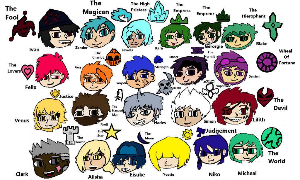 Arcana Knights(Full Colored) by SlyZeke101