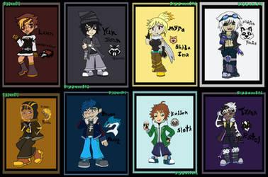 Half Moon Heroes (Fighters #1-#8)