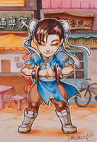 Street Fighter Victory Collection - CHUN LI by Sophie-Dreamy