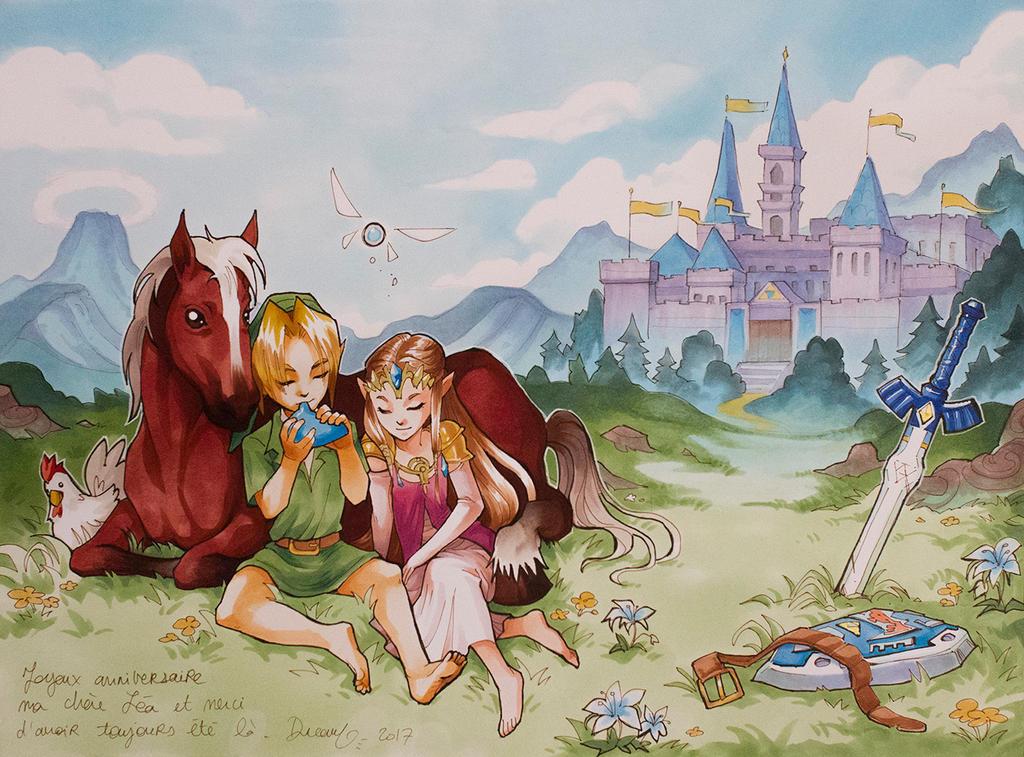 Zelda by Sophie-Dreamy