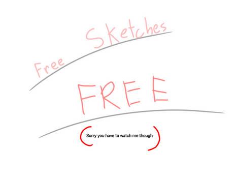 Free small sketches read desc