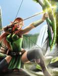 Lightining elf archer