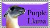 Purple Llama by Colliemom