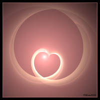Pink Heart For My Watchers by Colliemom