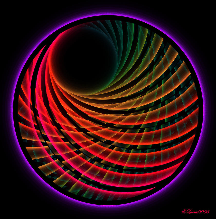 glowing rings vector free neon colorful royalty electric image circles