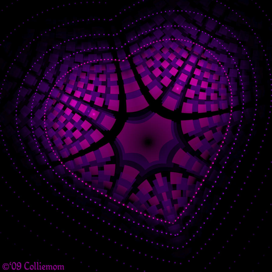 Dotted Heart by Colliemom