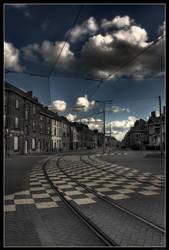 Tram way by AyseSelen
