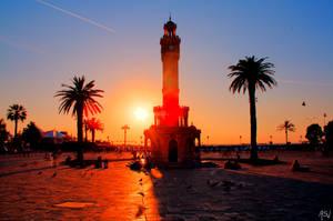 Sunset Izmir HDR by AyseSelen
