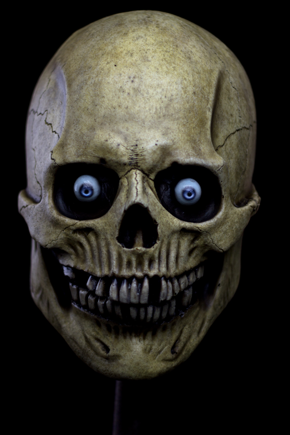 Skull Halloween mask 1 by masocha on DeviantArt