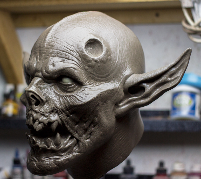 demon Head sculpt by masocha