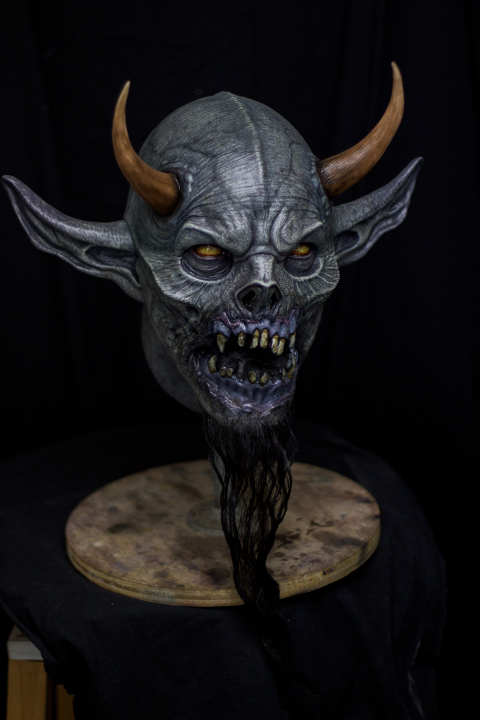 demon head finished by masocha