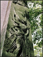 Angel Obelisk by funkydpression