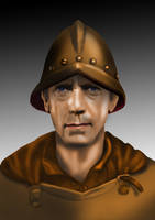 Samuel Vimes by funkydpression