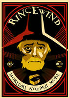Rincewind poster by funkydpression