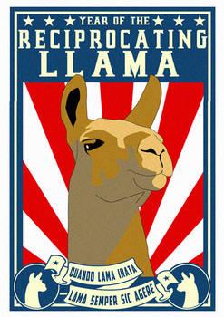 Reciprocating Llama