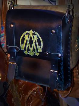 Ankh-Morpork post office leather bag