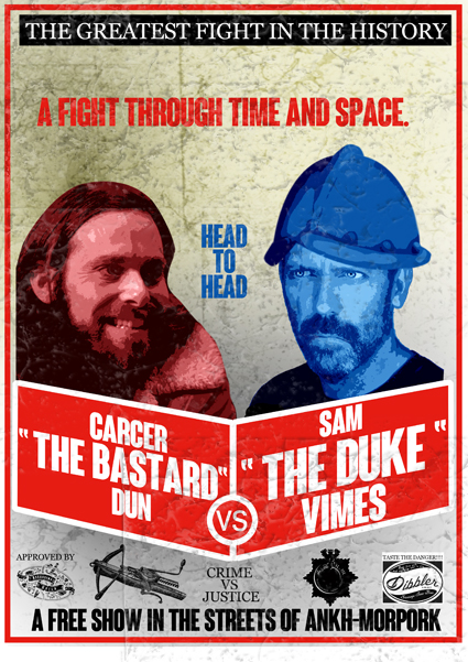 Carcer/Vimes Fight by funkydpression
