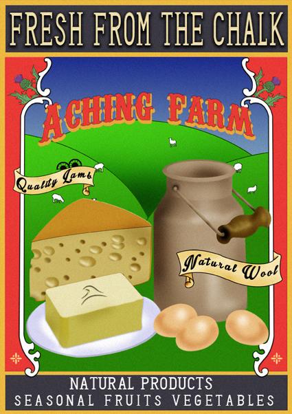 Aching Farm by funkydpression