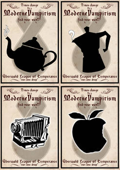 Uberwald temperance league posters