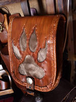 wolf paw bag by funkydpression