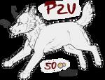 - Wolf Chibi Lineart [P2U] -
