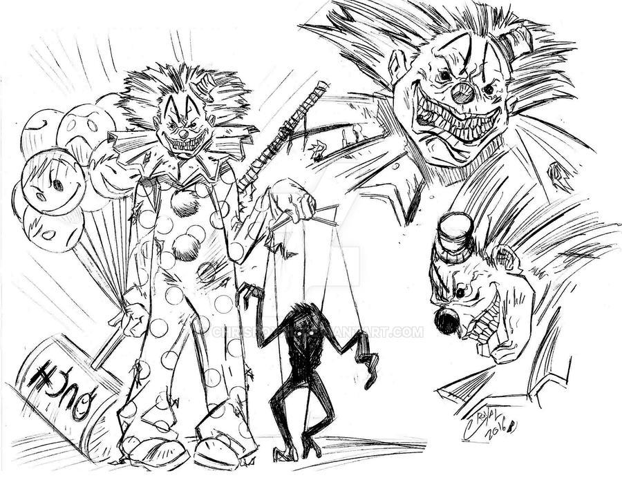 Evil Clow by CHRISROYAL