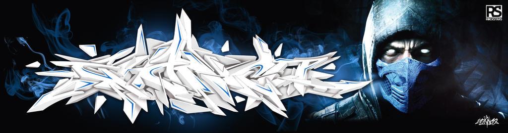 Zhanco graffiti 3D by zhanco