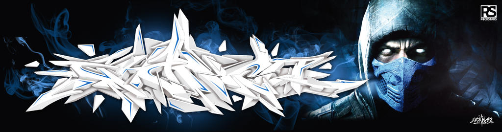 Zhanco graffiti 3D