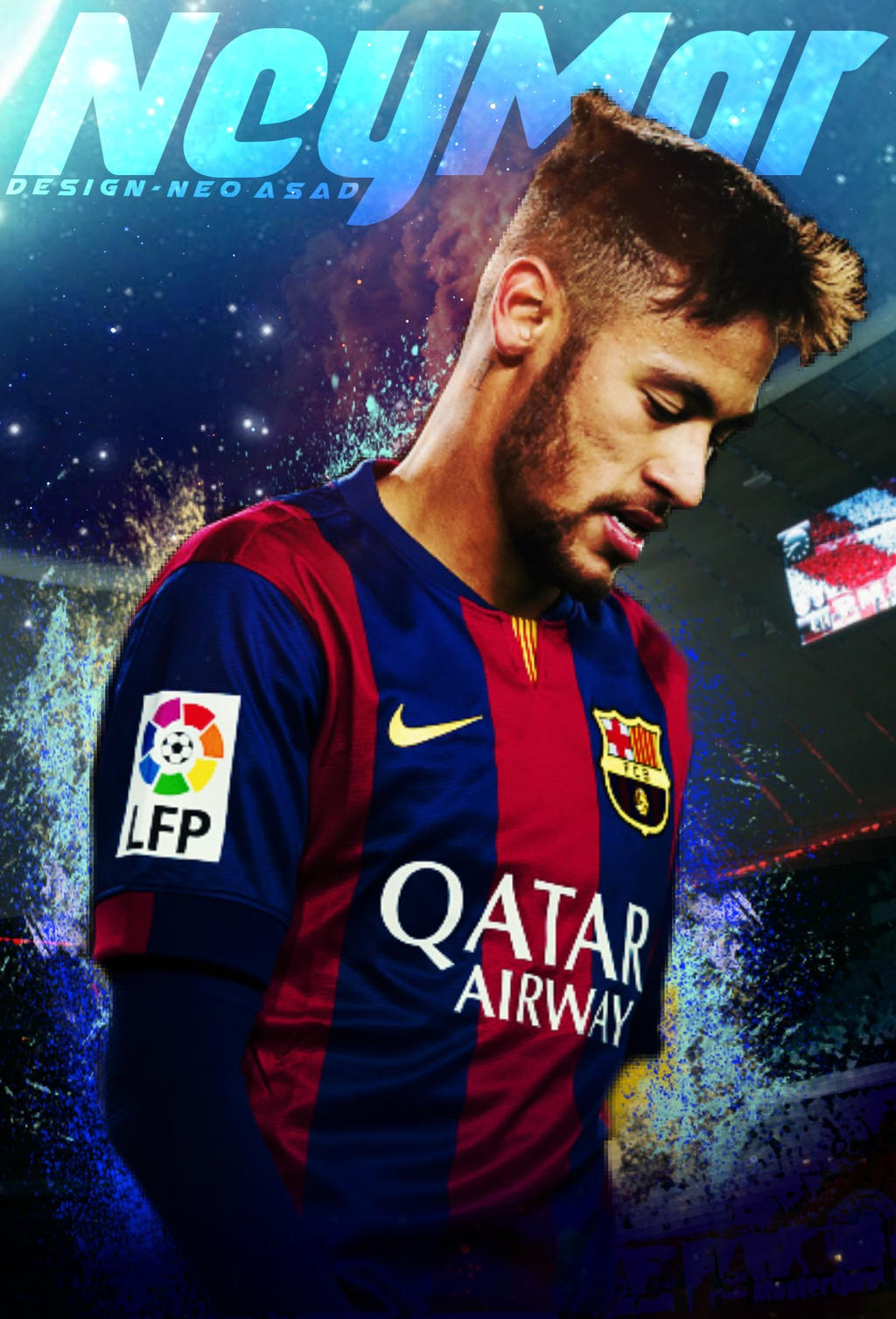 neymar -wallpaperneoasad on deviantart