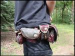 Archery belt pouches #2