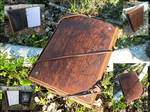 Leather and wood Journal / SketchBook #2