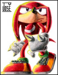 tSf Knuckles' 8th by BronxRicanJose
