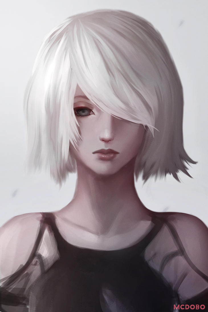 2B (Portrait) by McDobo