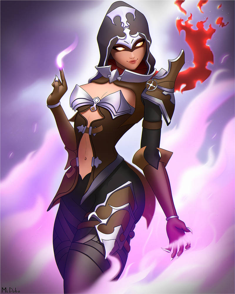 Demon Hunter Sombra by McDobo