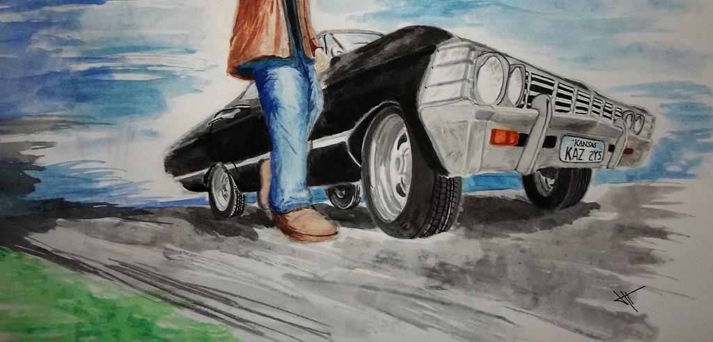 Impala strikes back by JH-creator