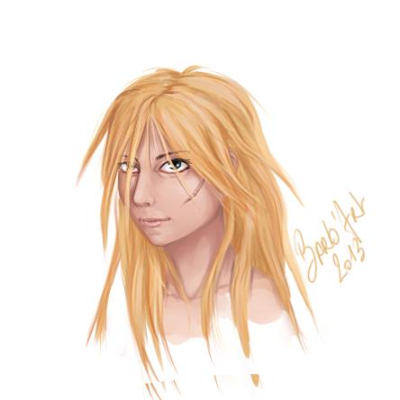Adolescente avec cicatrice sur le visage Eldriwyn_by_barb_art-d5rihbu