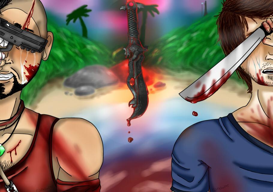 Far Cry 3 Vaas Y Jason By Creepypastera1 On Deviantart