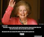 Thatchers final insult
