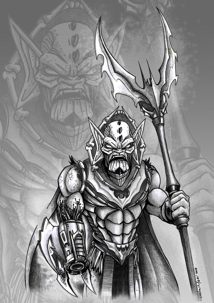 Hordak MOTU: You shall not pass! by JustinMain