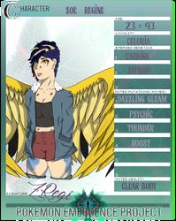 Emergence Project :: Zoe Regine App by kelsanity