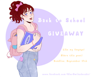 Facebook Giveaway! by Glor666