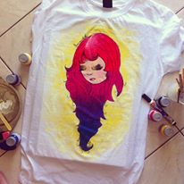 Colorful t-shirt by amandaponso