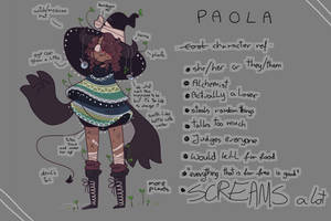 another double poncho oc by marbleach