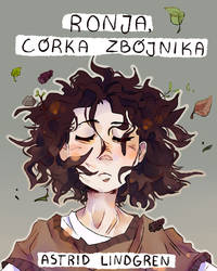 Ronja the robber's daughter book cover by marbleach
