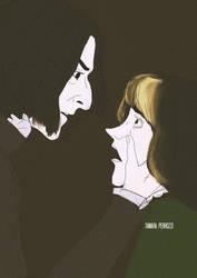 Severus and Narcissa  by Perrozzi