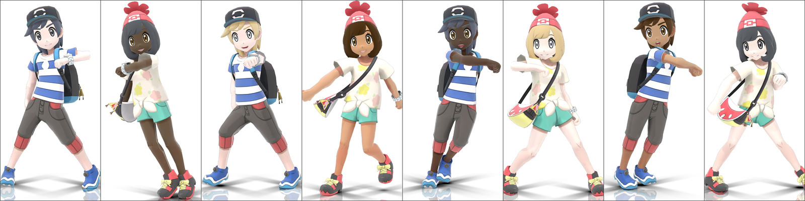 mmd some protagonist edits by go98 on deviantart