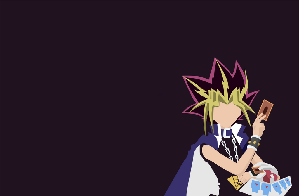 Yami yugi wallpaper minimalist by akubelumganteng on for Deviantart minimal wallpaper