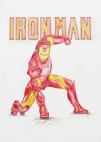 Iron Man art by niC00L