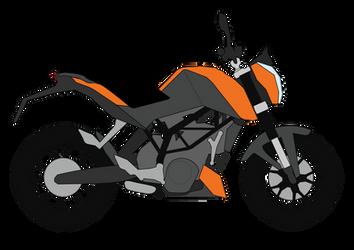 KTM Duke illustration