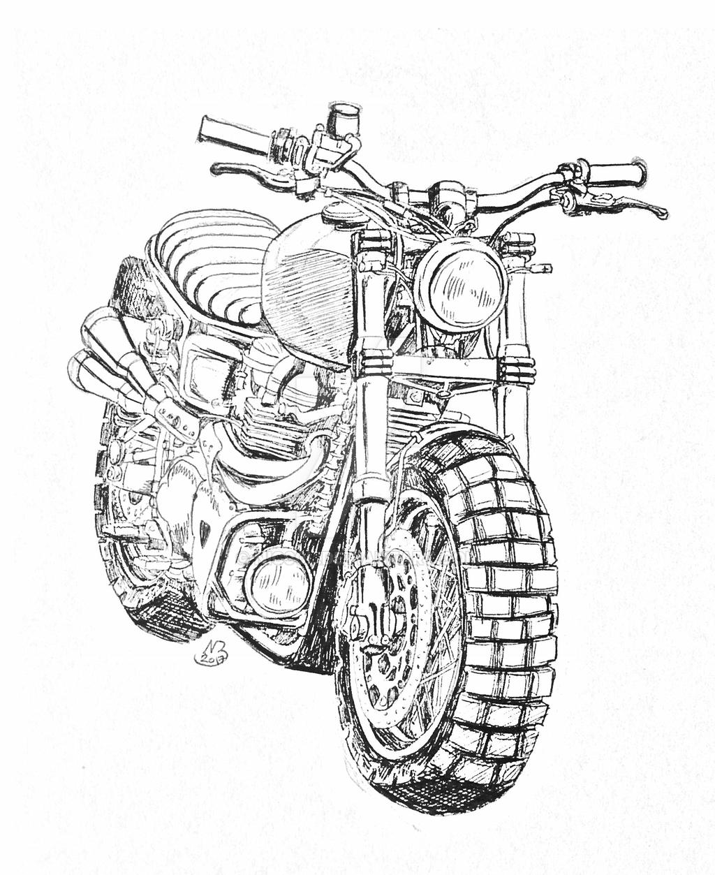 Triumph Scrambler by niC00L